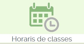 Horaris de classes: